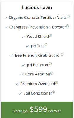 RainMaster's Lucious Lawn lawn care program
