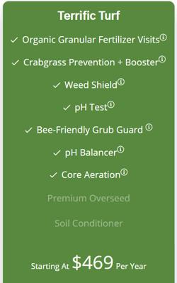 RainMaster's Terrific Turf lawn care program