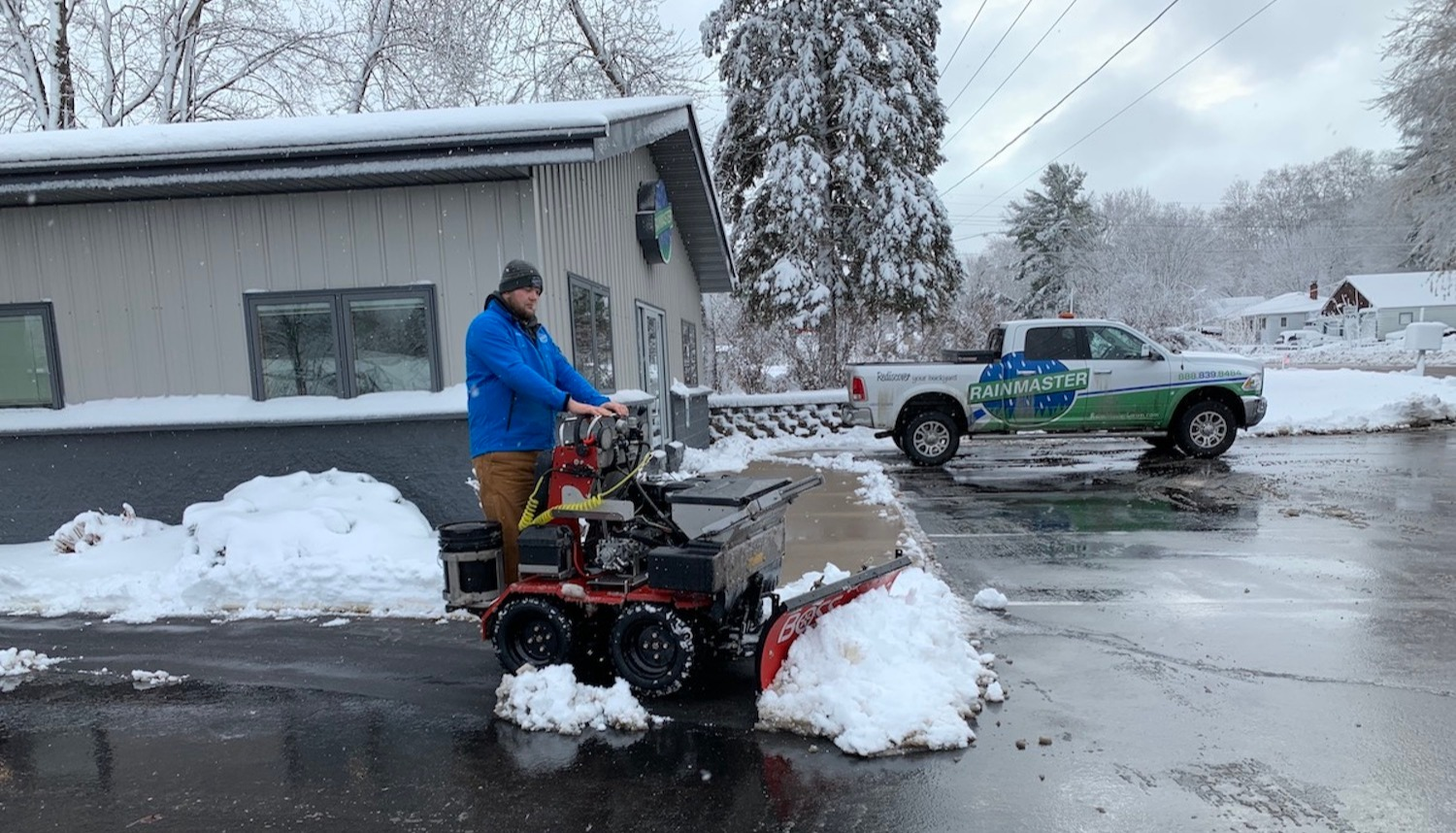 Specialty snow removal for your unique expectations