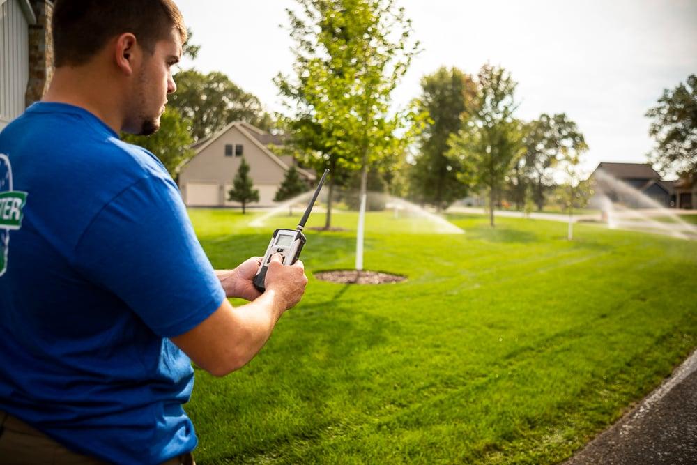 Smart irrigation system control