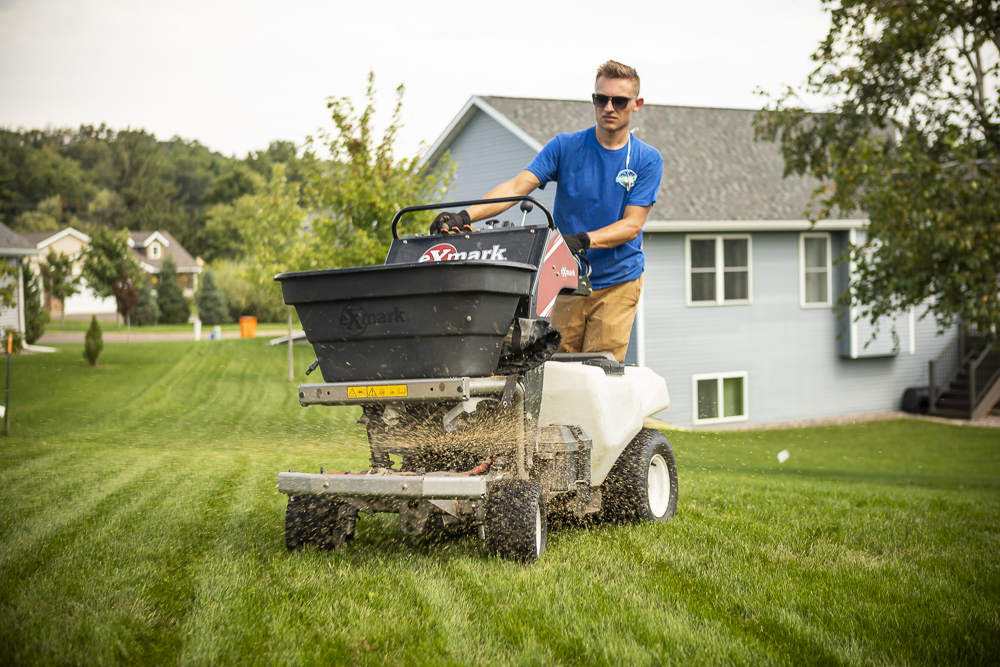 lawn fertilizer application